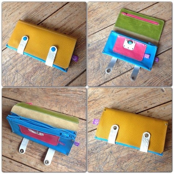 Leather wallet by TheCrazySmile