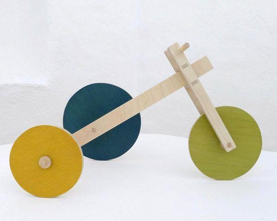 Wooden toy ecofriendly handmade toy the door TheWanderingWorkshop, $82.00