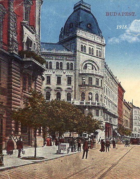 Budapest 1918