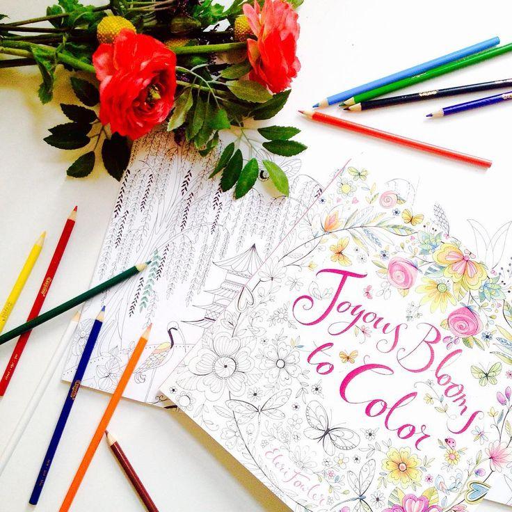 Best 75 Joyous Blooms To Color