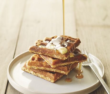 Corn Meal and Oat Waffle Mix  Recipe  | Epicurious.com