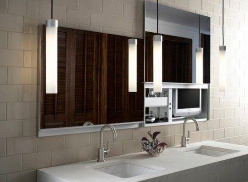 Подвесные светильники для ванной