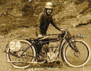 Freddie Dixon @ The Isle of Man TT - 1920's