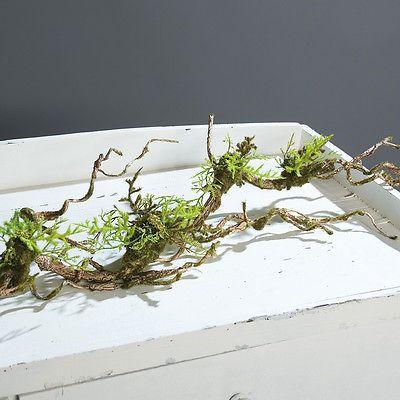 Moosliane Girlande Liane Moos Tischdeko Kunstpflanze, 100 Cm In Möbel U0026  Wohnen, Dekoration, Blumen U0026 Künstliche Pflanzen