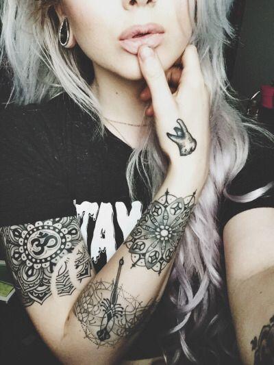 """Progress, progress."" mandala dragonfly tooth moler black and gray om geometic tattoo"