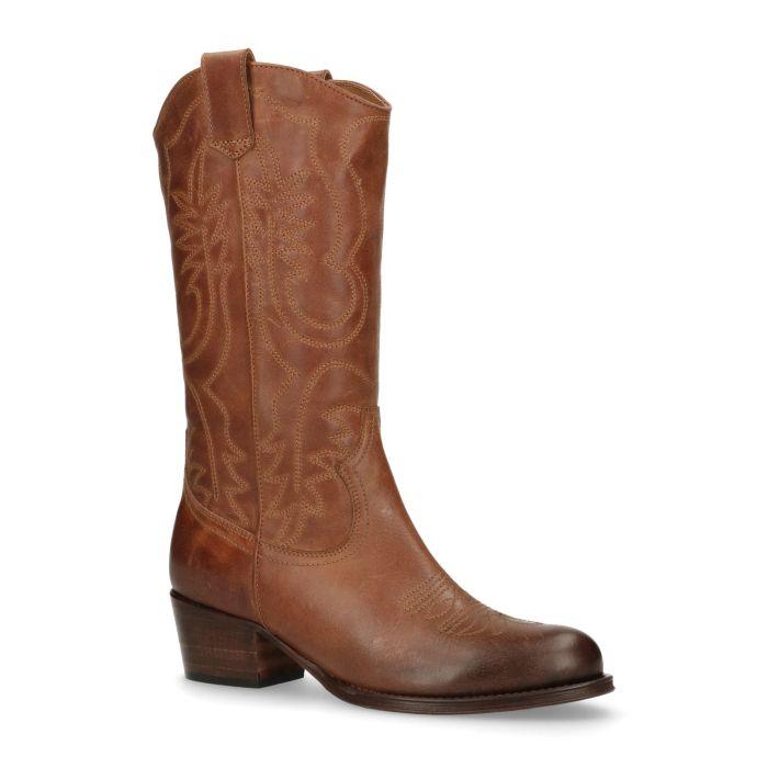Bruine laarzen online shoppen SACHA