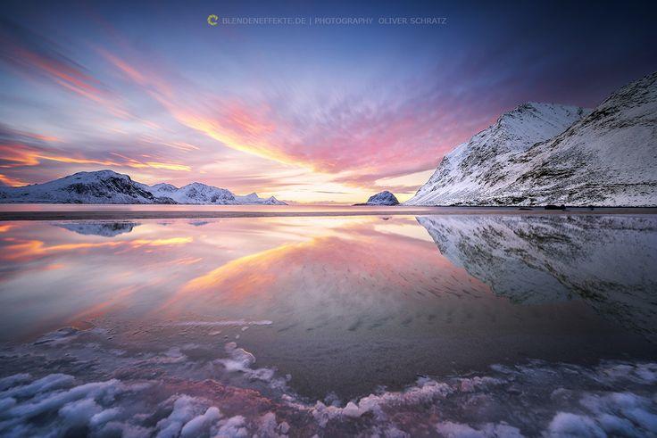 [ haukland reflection ] - 80 sec. sunset with Haida Filter System www.facebook.com/blendeneffekte.de