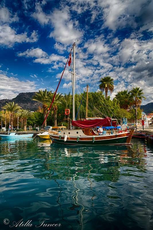 Amazing town of #Gocek near #Fethiye #Turkey