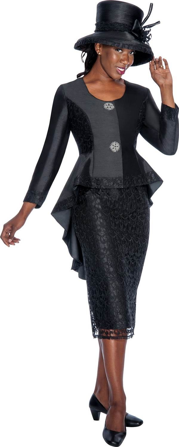 GMI G6012 Black - Womens Church Suits.. Beautiful! Saw one just like it at http://www.womensuitsupto34.com/