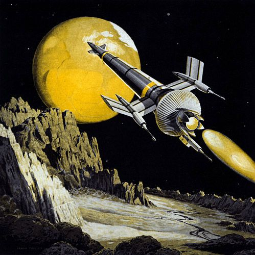 17 Best Images About Retro Space Art On Pinterest