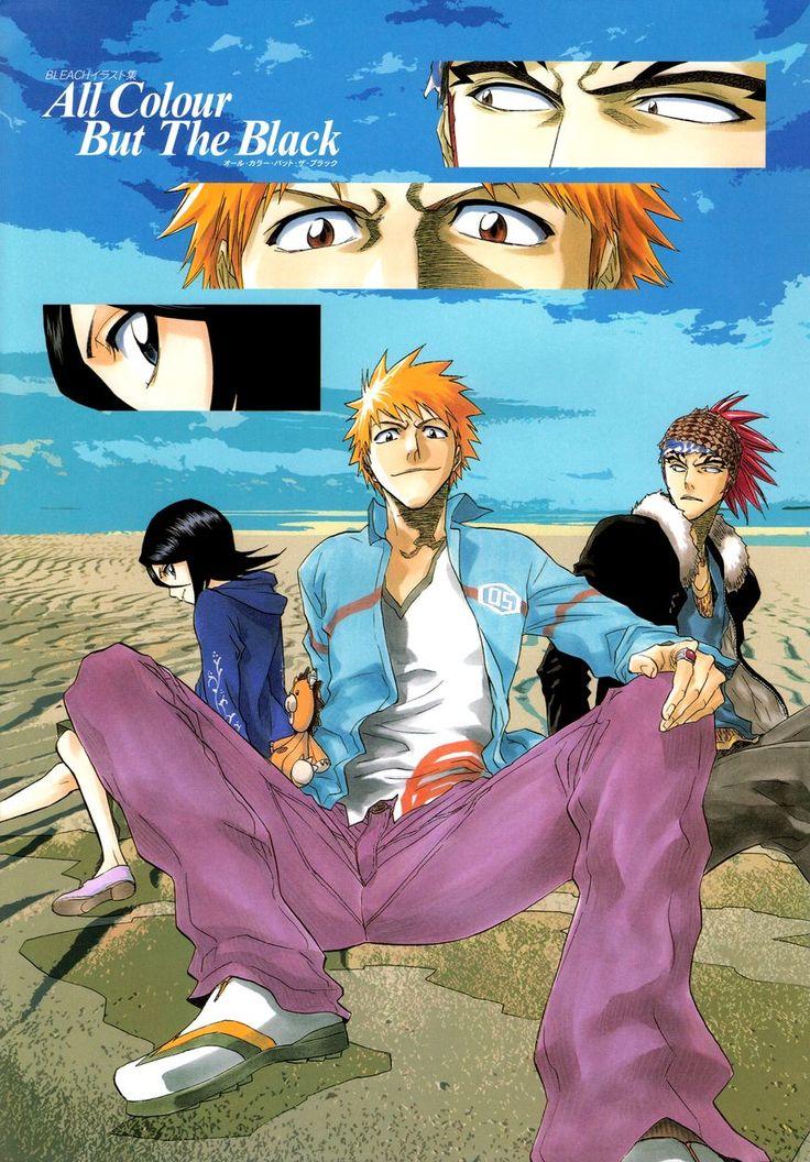 Чтение манги Блич - все цвета, кроме чёрного - Артбук 1 - 1 - самые свежие переводы. Read manga online! - ReadManga.me
