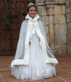 silver princess cape