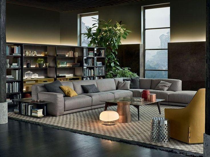 Sofá secional PARIS-SEOUL | Sofá de tecido - Poliform