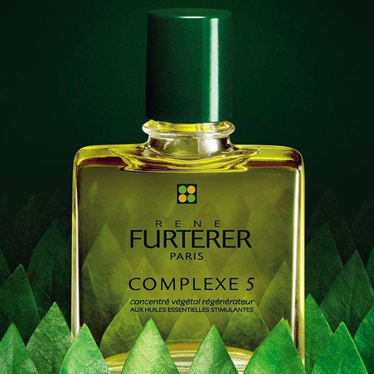 #ReneFurterer Complexe 5 - это высокоэффективный концентрат эфирных масел апельсина, лаванды, чабреца, сосны и розмарина, который тонизирует, оздоравливает и восстанавливает кожу головы, придавая жизненную силу волосам.