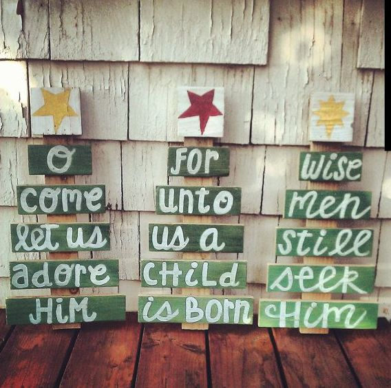 Unechte Weihnachtsbäume basteln – Die besten Ideen!