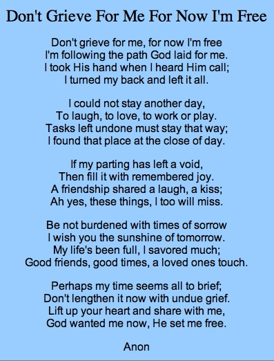 ILENE: Funeral speech for a friend example