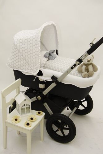 preppy bugaboo in grey <3