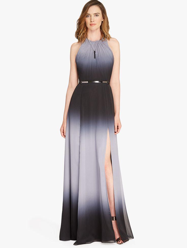 Halston Heritage Blue Ball Gown – fashion dresses