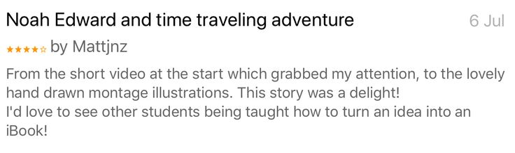Noah Edward and time traveling adventure book