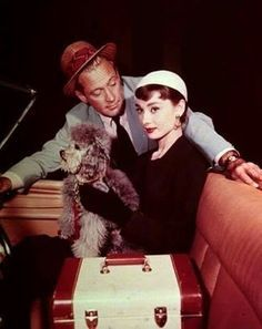 SABRINA - William Holden & Audrey Hepburn