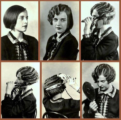 The Marcel Wave Hair Tutorial 1920 S 1920s Pinterest