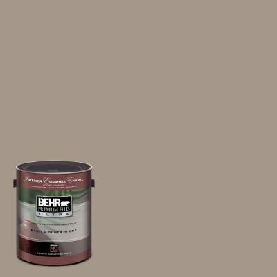 Studio Taupe by Behr Paint. We just painted our dining room and foyer this color - and LOVE it!