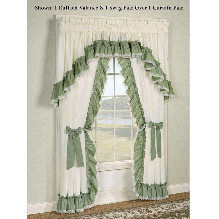 Priscilla Curtains For Picture Window
