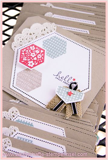 Stampin Up, Six-Sided Sampler, Greeting Card
