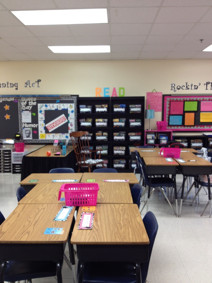 Classroom Design For Grade 4 : Best high school organization images on pinterest
