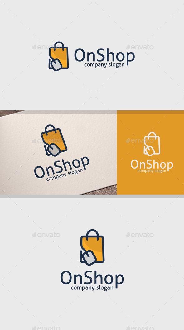 Online Shop - Objects Logo Templates