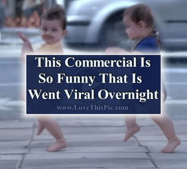 This Commercial Is So Funny That It Went Viral Overnight funny kids amazing lol humor video funny kids videos heartwarming viral videos kid videos