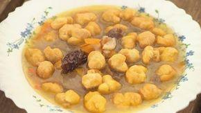 Rigófüttyös sült leves aszalt szilvával