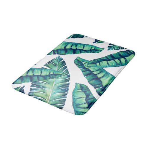 Tropical Glam medium bath mat