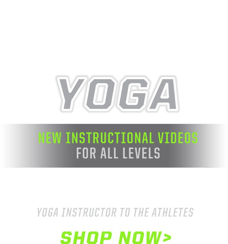 Gaiam's Yoga For Athletes DVD series and assortment of performance athletic yoga equipment and yoga mats