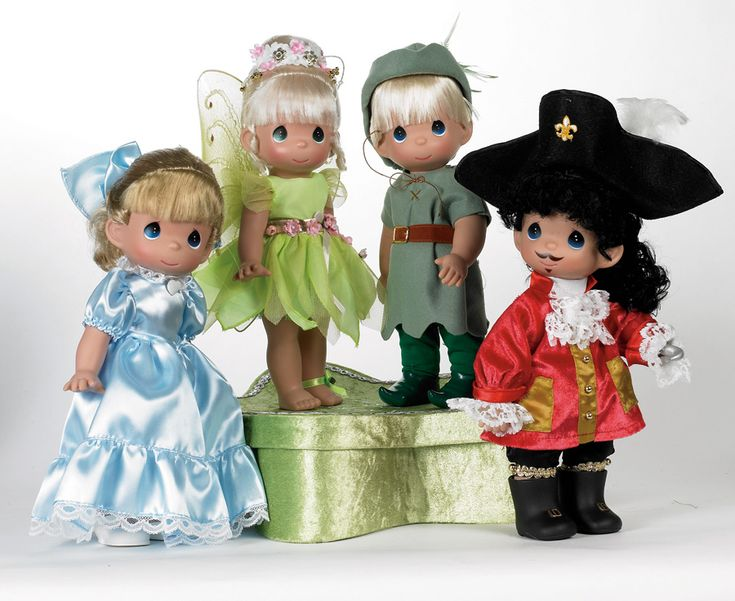 New Disney Precious Moments Doll Collection Peter Pan