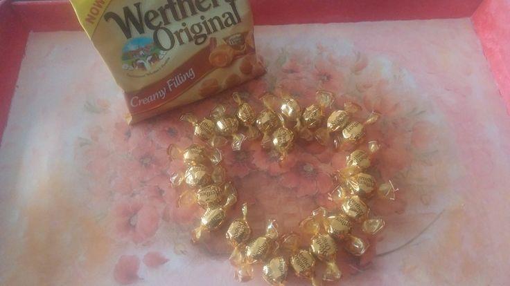 #swiatkarmelu #werthersoriginal słodkości podane na tacy