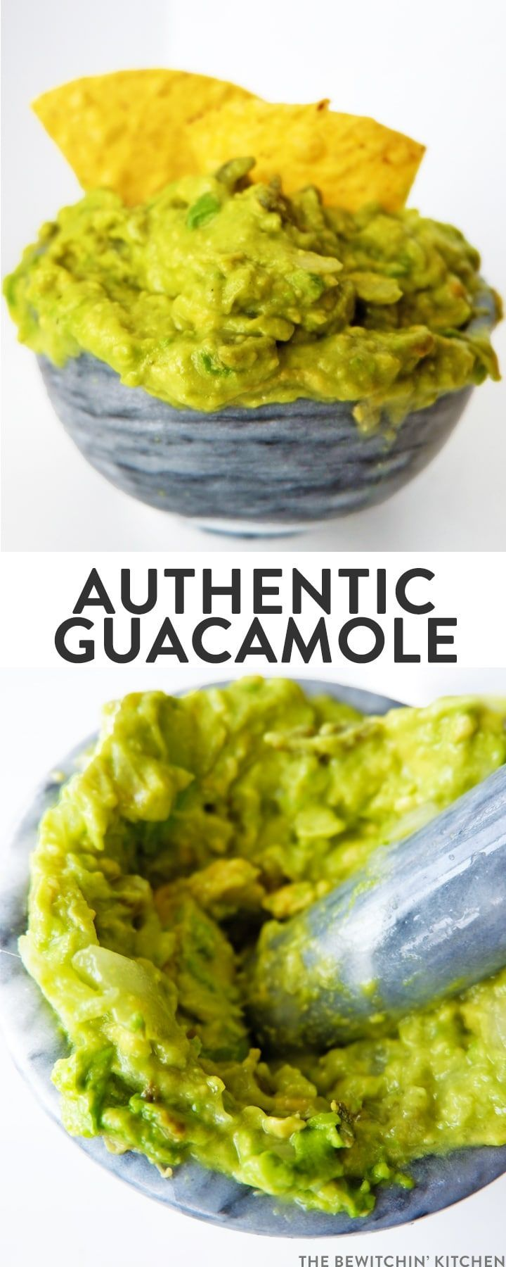 This authentic guacamole recipe was brought back from my recent Mexico travels. This clean eating, healthy snack recipe is whole30 and paleo plus its only 5 ingredients! via @RandaDerkson