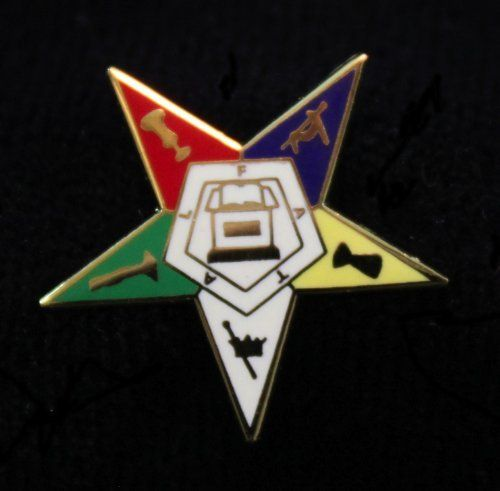 Order Of The Eastern Star Masonic Lapel Pin 3/4 . $4.99. This lapel pin is made of the best quality materials possible. They are made for many years of use. You will not be disappointed!