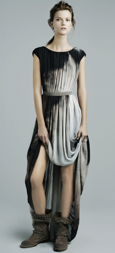 love this dip dyed dress