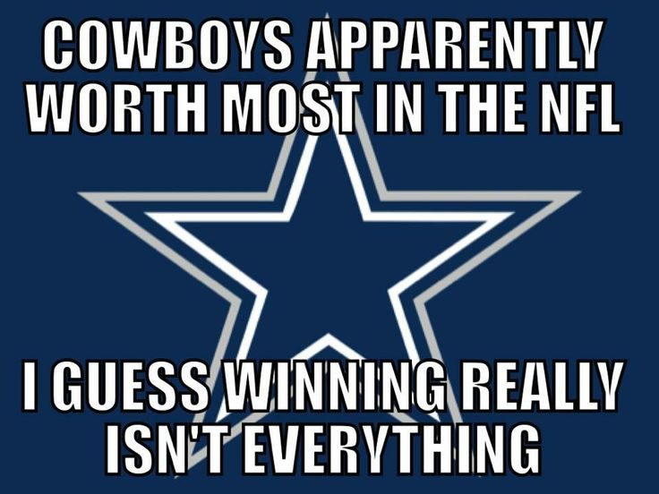 Redskins Funny | Cowboys Apparently Worth Most In The NFL…