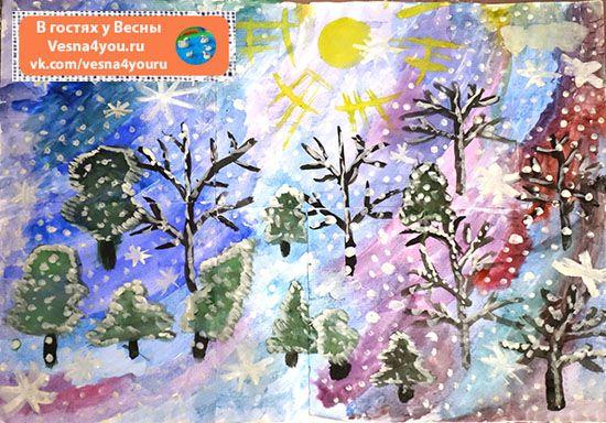 """Наш мини-мир """"Зимний лес из втулочек"""" - Маленькие волшебные миры и сенсорные коробочки  - Блог """"В гостях у Весны"""" - В гостях у Весны"""