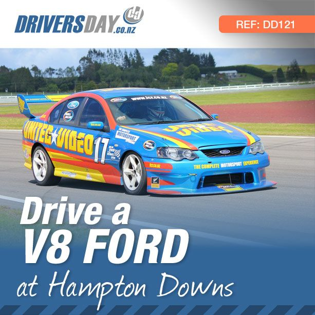 From $425, driving a V8 Ford Race Car at Hampton Downs is a great gift for men or women. Get strapped into a V8 Ford and experience the stunning performance of these cars as you and your instructor lap the circuit at speeds you never thought possible.