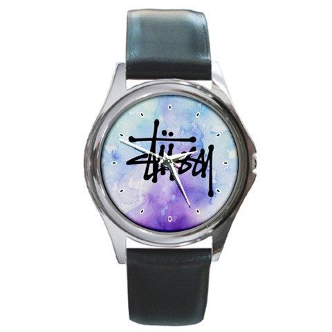 Untique watches Stussy Watercolour Pattern logo by nonoaslino