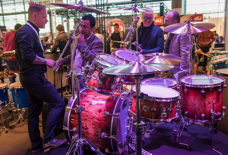"""GEWA Drums launche their new brands """"DW"""", """"Gretsch"""" and """"Remo"""". Discover their world premier in Hall 9.0!"""