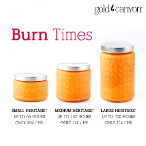 Gold Canyon candles are an amazing value. Two wicks in each jar means even burning and no wax left on the side of the jar. www.evelynwilliams.mygc.com