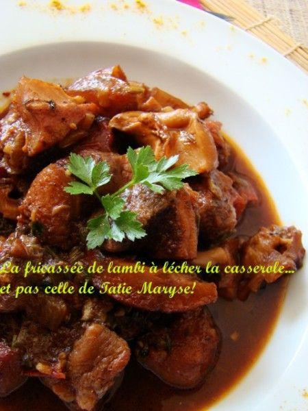 Recette de la fricass e de lambi antillaise l cher la - Cuisine creole antillaise ...