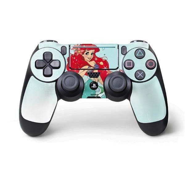 """Add sparkle and shine to your PS4 Pro/Slim Controller with Disney's The Little Mermaid """"Ariel Sparkles"""" PS4 Pro/Slim Controller Skin. This """"Ariel Sparkles"""" Little Mermaid Skin features the beautiful Ariel with twinkles and sea flowers in her hair. The """"Ariel Sparkles"""" PS4 Pro/Slim Controller Skin is the perfect PS4 Pro/Slim Controller accessory to add to your Disney Princess collection! Whether you have the new slim PS4 Slim or PS4 Pro, Skinit offer..."""