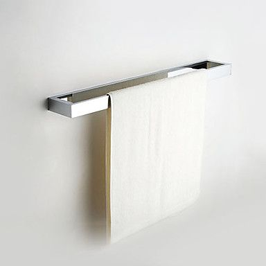 Modern+Chrome+Finish+Solid+Brass+Single+Towel+Bar+–+USD+$+76.99