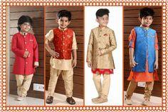 Kids Fashion Trends 2016-2017 | Kids Ethnic Wear for Weddings & Special Occasions | Boys Designer Jodhpuri suits, Readymade kurta pajama, indo-western dresses