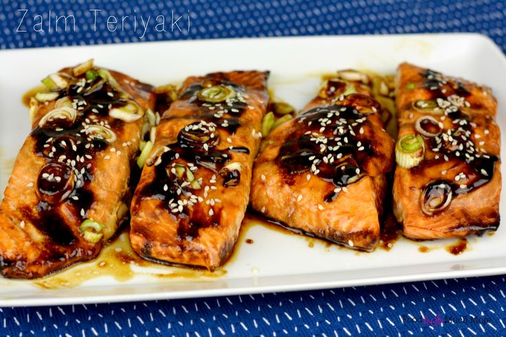 Zalm teriyaki uit de oven // Food & So Much More